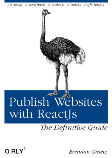 Publish websites using ReactJs